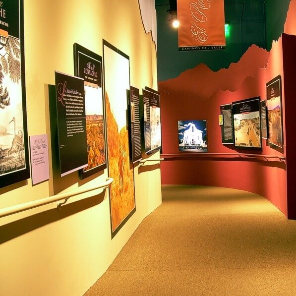 A gentle ramp begins El Camino Real, with displays and exhibits describing the trail and the regions it passed through in the 1600 and 1700s.<br><br><b>Photo by Friends of El Camino Real</b>