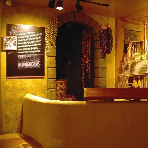 A tienda (store) shows some of the items that were sold, and neccessary, for life in Mexico and New Mexico in colonial days. These store items were brought to New Mexico from Mexico and Spain by regular supply wagons over the Camino Real.<br><br><b>Photo by Friends of El Camino Real</b>